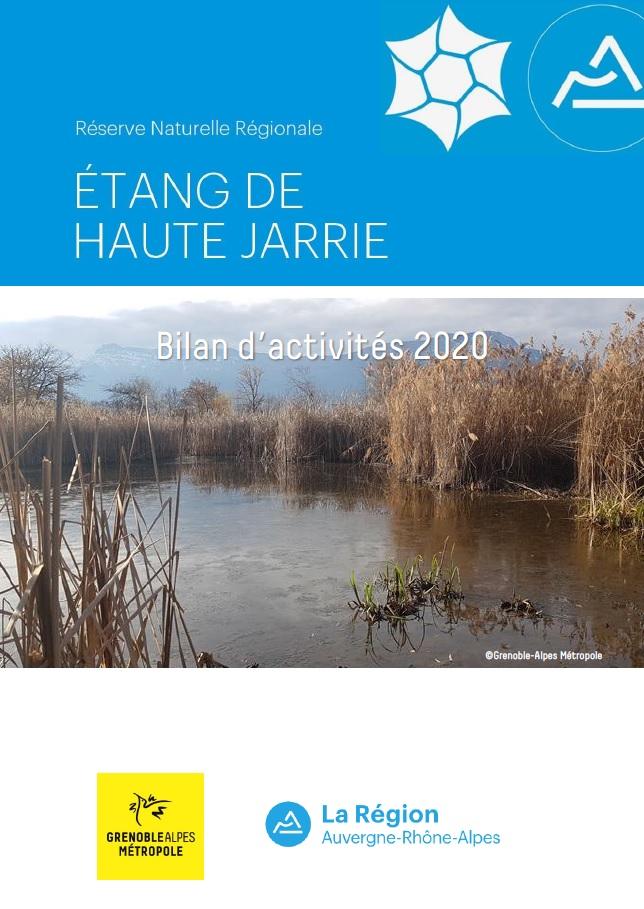 Bilan d'activités 2020 RNR Etang de Haute-Jarrie
